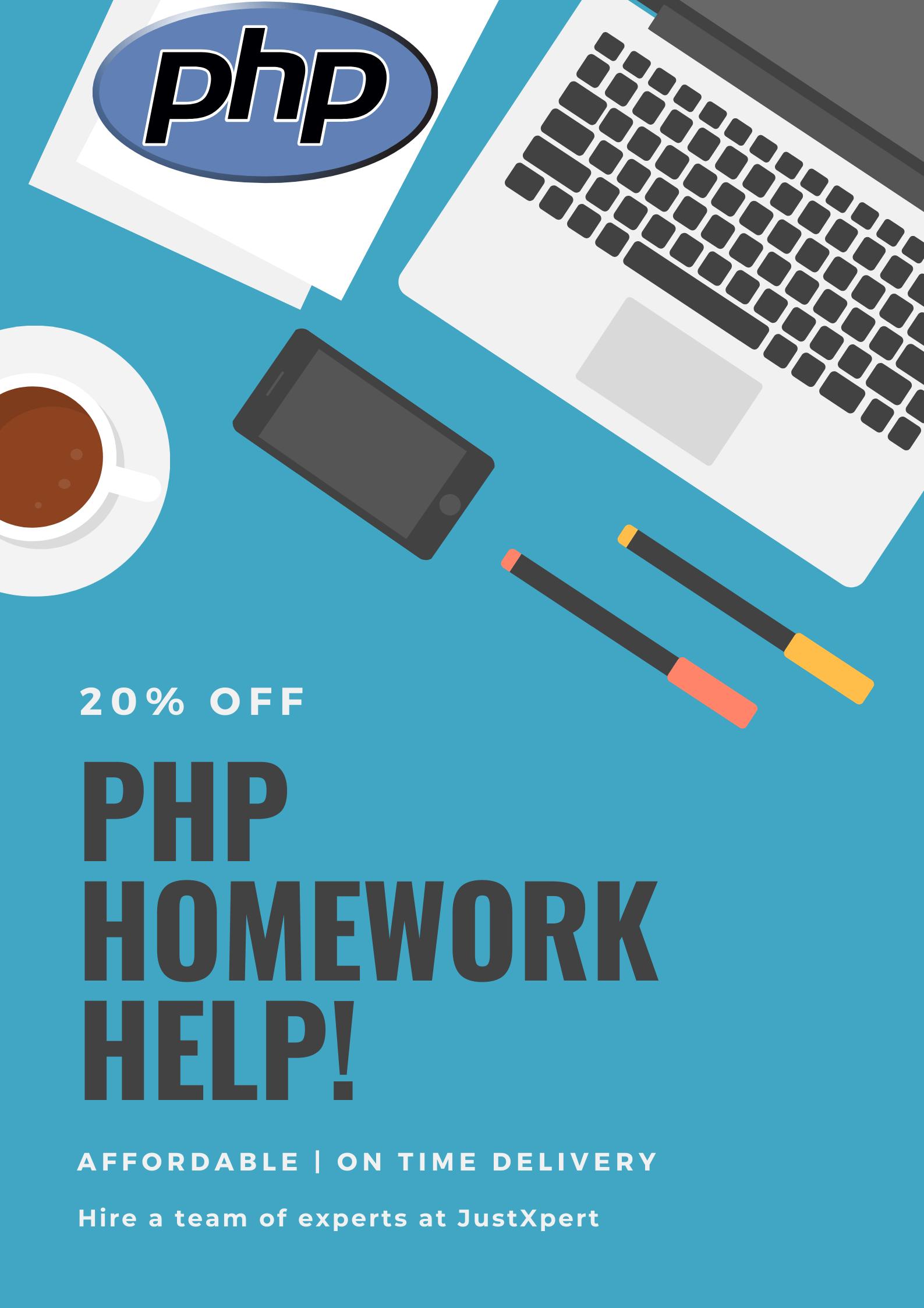 Get PHP Homework Help